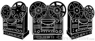 Professional Stereo Audio Tape Deck Recorder