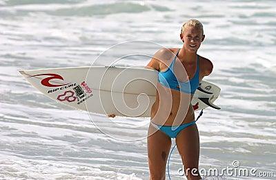 Professional Surfer Bethany Hamilton Editorial Photography