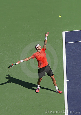 Professional Tennis Player. Editorial Image