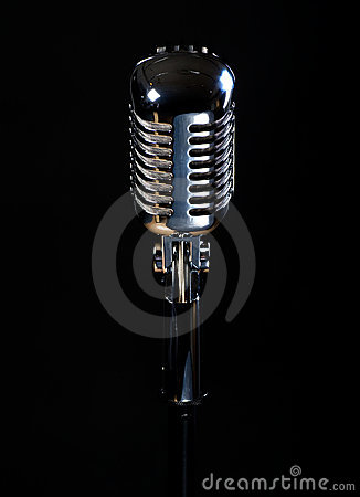 Professional vintage microphone