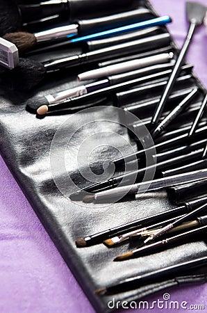 Professionele make-upuitrusting