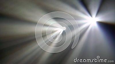 Professionele verlichting en mist in de concertfase Toon vermaak, disco in nachtclub stock video