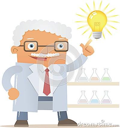 Professor get an idea
