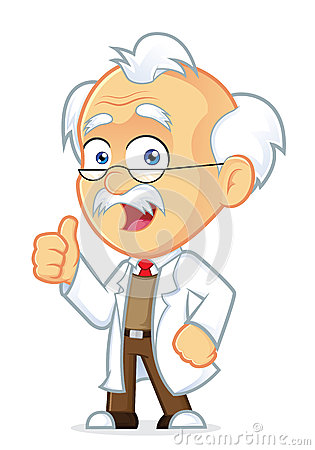 Free Professor Giving Thumbs Up Royalty Free Stock Images - 36773189