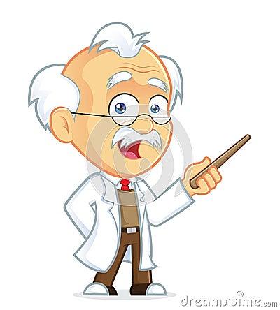 Free Professor Holding A Pointer Stick Stock Photos - 36773193
