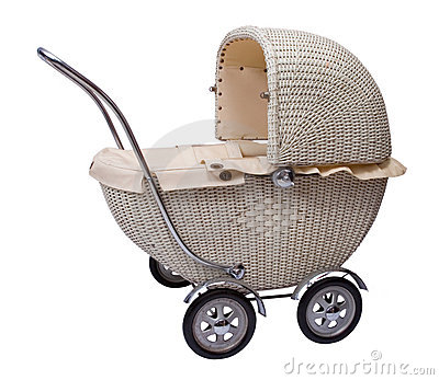 Profile of baby carriage
