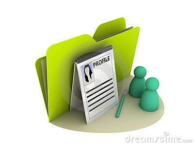 Profile Icon Royalty Free Stock Photography - Image: 9848537