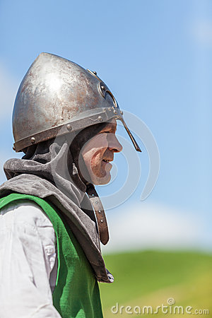 Profile of a Knight Editorial Photography