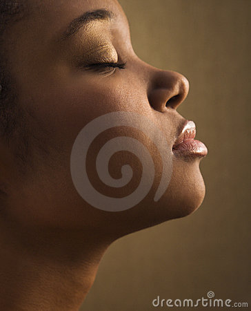 Free Profile Of Female S Face. Royalty Free Stock Photos - 4412078