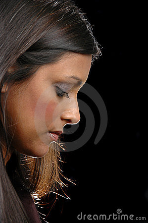 Free Profile Of Indian Girl Lookind Stock Photo - 2317030