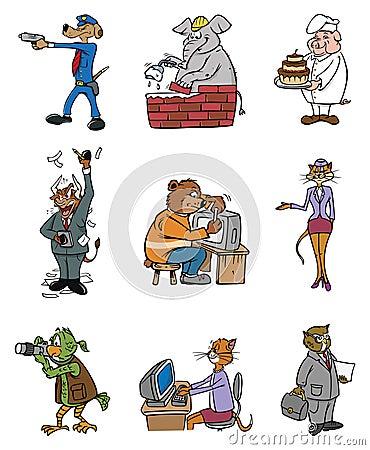 Profissões animais