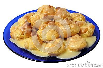 Profiteroles - delicious dessert