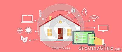 Progettazione piana dell 39 icona di concetto della casa for Progettazione della costruzione domestica