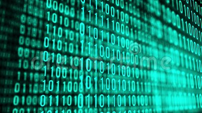 Programmazione tecnica dell'ambiente, codice binario in futuro Tecnologie moderne concetto di codice esadecimale Riassunto digita stock footage