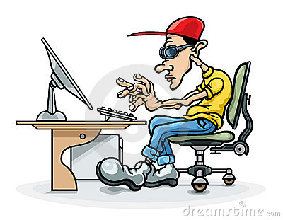 programmer and computer