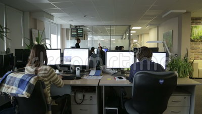 Programmierer, die im Büro arbeiten