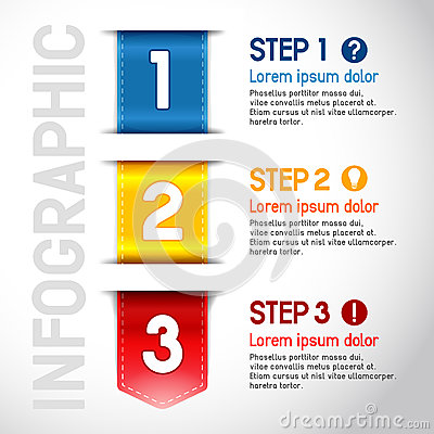 Progress steps royalty free stock image image 33003566 for Vector canape user manual