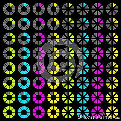 Progress symbols