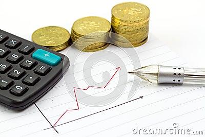 Progresso calculador das economias