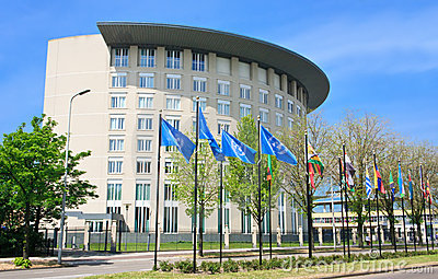For the Prohibition of Chemical Weapon OPCW Editorial Stock Image