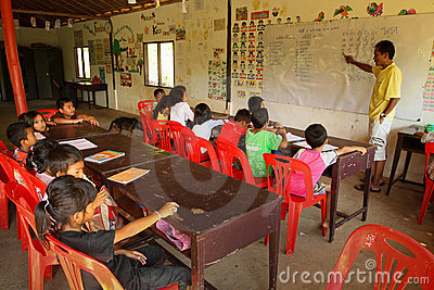 Project Cambodian Kids Care Editorial Stock Image