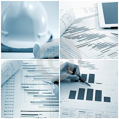 Project management collage