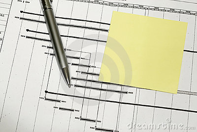 Project Time Schedule Stock Photos - Image: 5694103