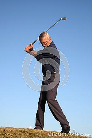 Projectile de golf de parcours ouvert