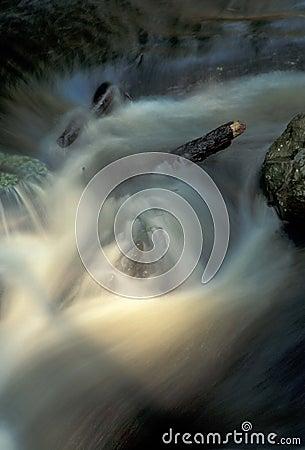 Projector na água