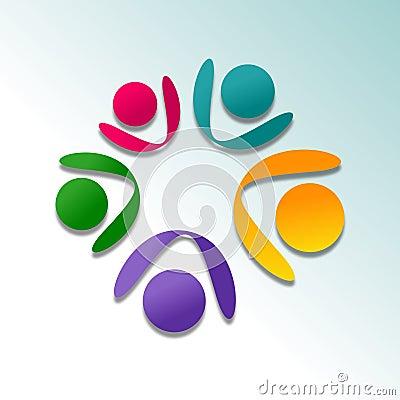 Projeto abstrato do logotipo