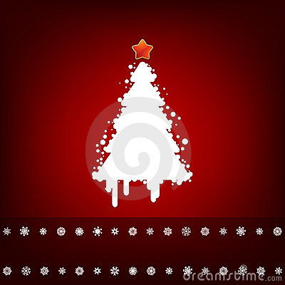 Projeto com árvore de Natal. EPS 8