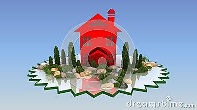 Projeto da paisagem