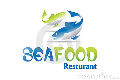 Projeto do logotipo do marisco