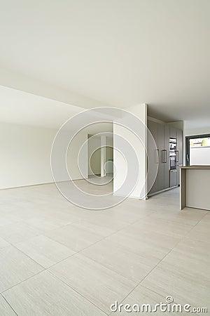 Projeto interior, moderno