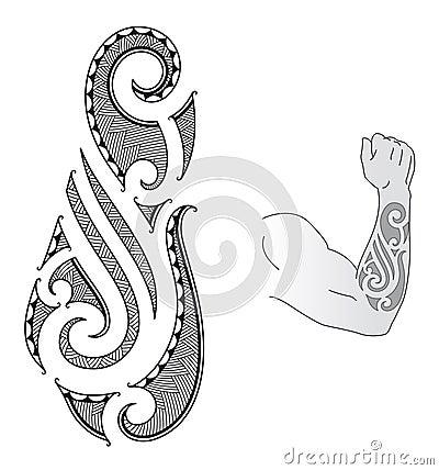 projeto maori do tatuagem fotografia de stock royalty free imagem 22827687. Black Bedroom Furniture Sets. Home Design Ideas