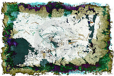 Projetos nervosos 3-D de Grunge