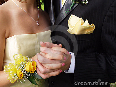 Prom Couple Close-up