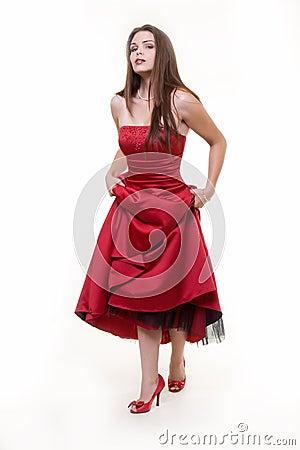 Free Prom Dress Stock Photography - 3174172