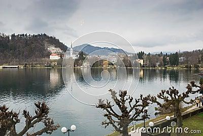 Promenade along Lake Bled