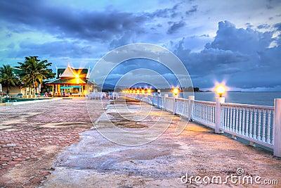 Promenade at Andaman Sea