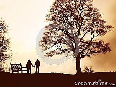 Promenade d amoureux