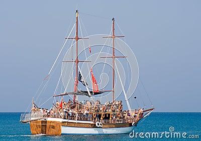 Promenade vessel