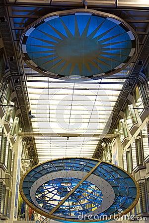 Promenadenraum-Kreuzschiff Seemann der Meere Redaktionelles Bild