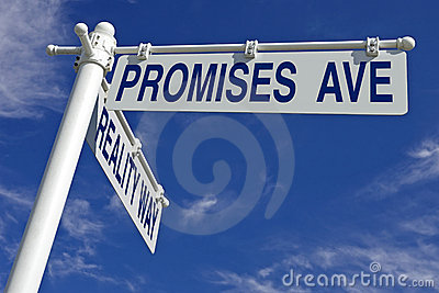 Promises ave and reality way