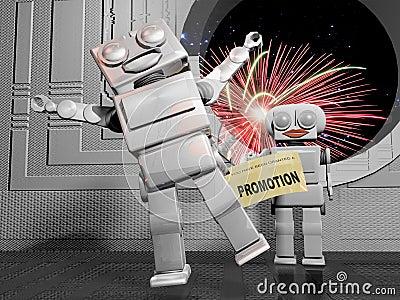 Promotion celebrations