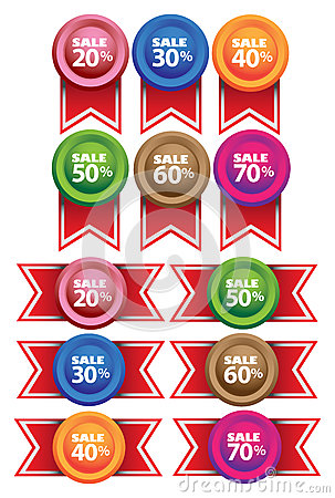 Promotional Sale Labels