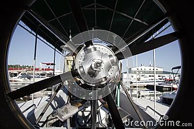 Propeller of small boat