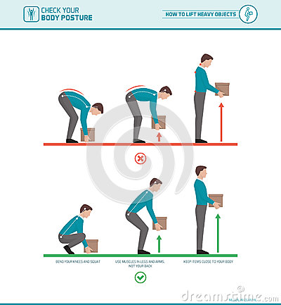 Free Proper Lifting Technique Royalty Free Stock Photography - 90415877