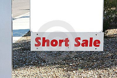 Property short sale sign