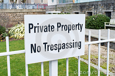 Propriedade privada nenhum infrinjir